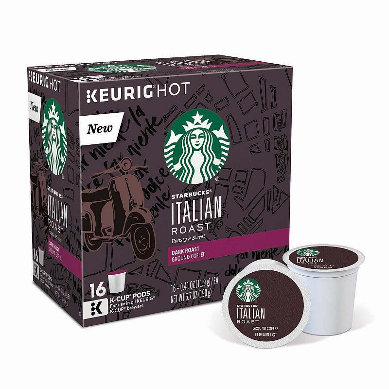 Keurig® K-Cup® Pod Starbucks Italian Roast Coffee
