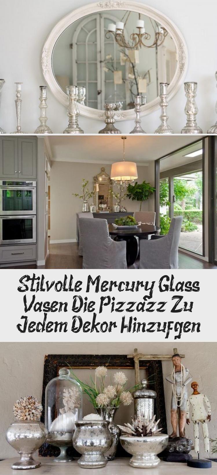 Photo of Stilige Mercury Glass-vaser som tilfører Pizzazz til enhver dekor #planter …