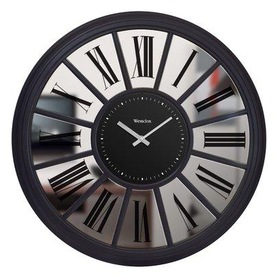 Westclox Clocks Mirror 20 Wall Clock In 2020 Mirror Wall Clock