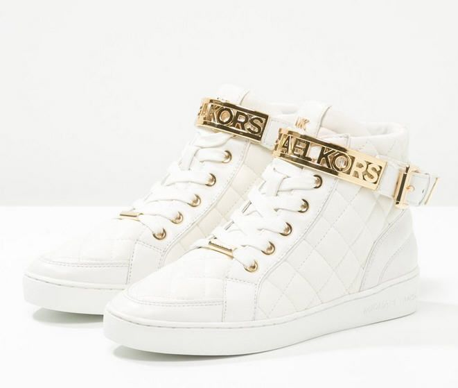 michael michael kors essex baskets montantes optic white prix baskets femme zalando 225 00