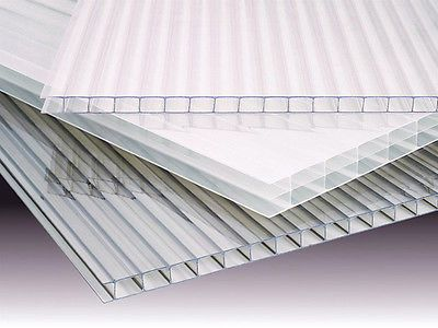 4mm Polycarbonate Greenhouse Replacement Sheets 10 Sheets Roof Panels Polycarbonate Polycarbonate Greenhouse
