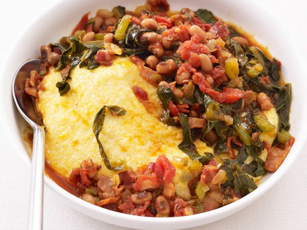 Grits with bacon and beans recipe bacon celery and all food forumfinder Choice Image