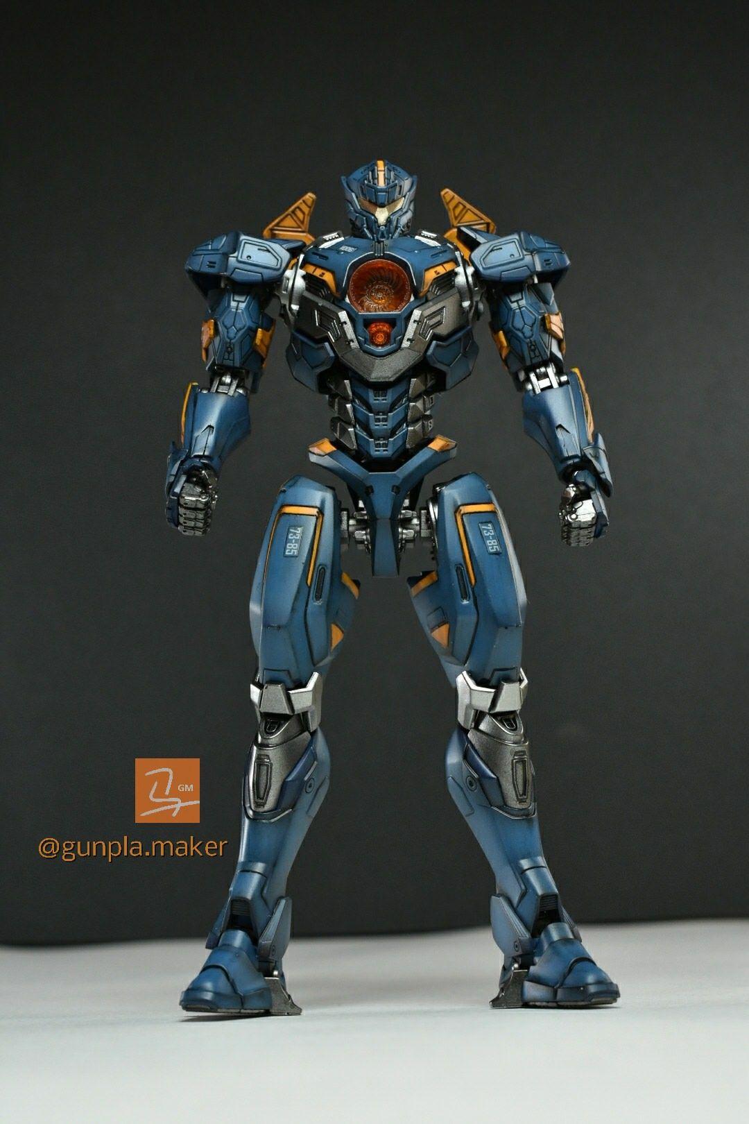 Community Spotlight Gunpla Maker Hg Gipsy Avenger Pacific Rim Avengers Futuristic Armour