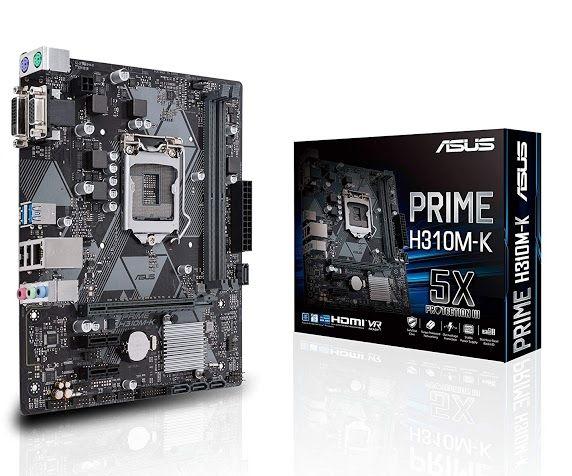 Find Great Review Useful Of Asus Prime H310m K Lga1151 Intel 8th Gen Ddr4 Vga Dvi H310 Micro Atx Motherboard Model 90mb0x80 M0aay0