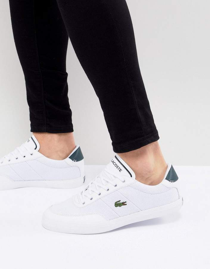 d5b224b3c Lacoste Court Master sneakers in white in 2019