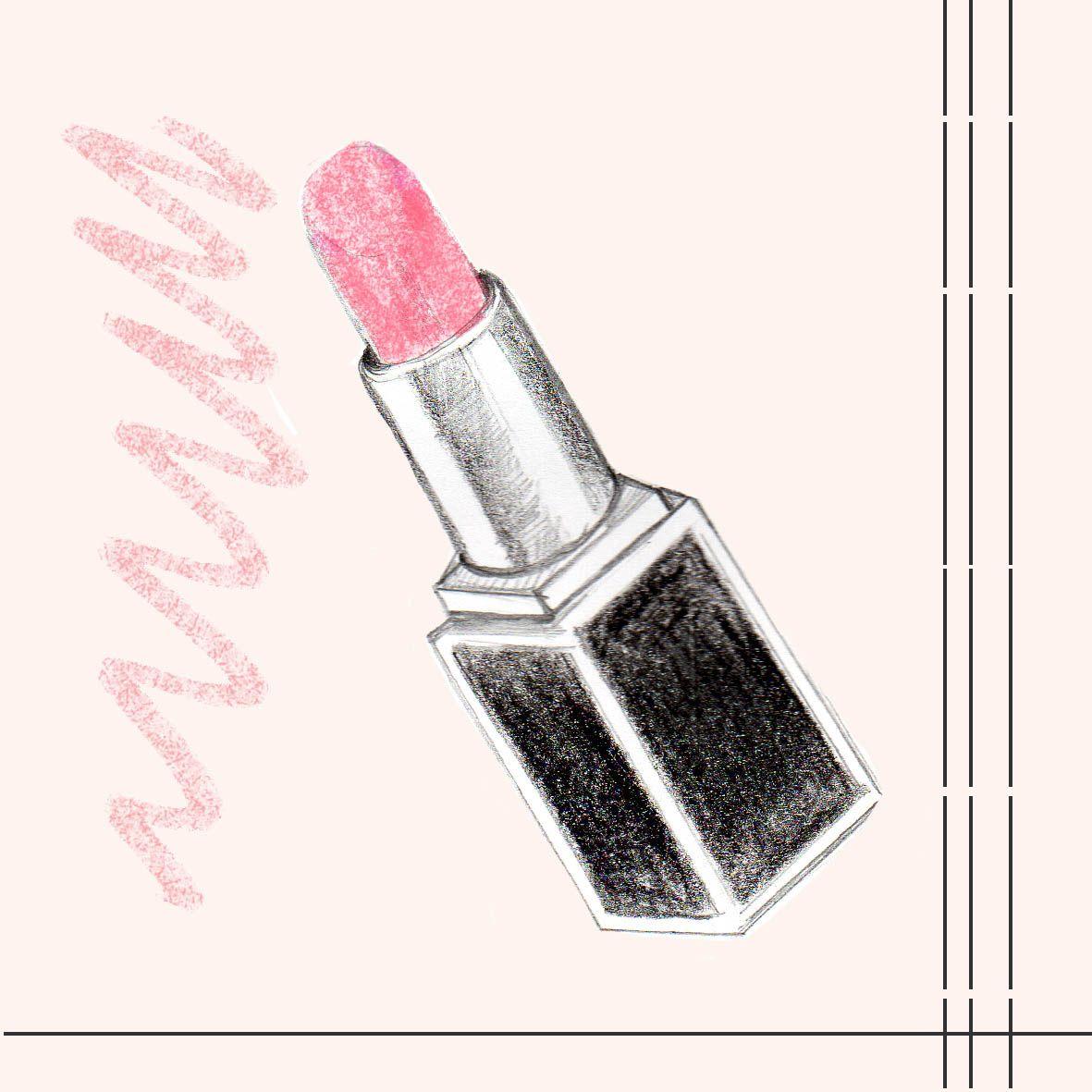 Chanel makeup illustration | Illustrated Lines | Makeup ...