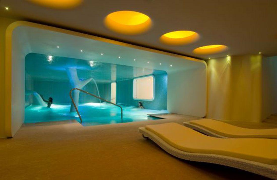 Spa | Spa Interior Design With Yellow Color 4103 HD Wallpaper