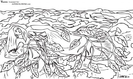 diego rivera printable coloring pages - photo#26