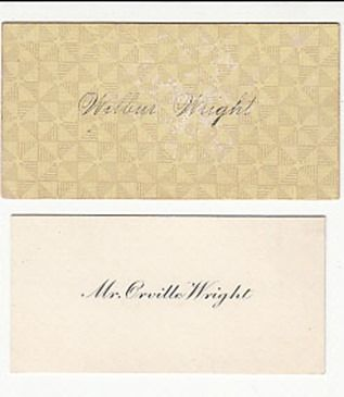 The real abraham lincoln and wright brothers business cards the real abraham lincoln and wright brothers business cards reheart Image collections