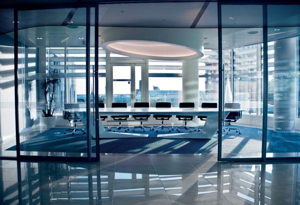 bank and office interiors. DZ Bank Office // Maris Interiors LLP And D