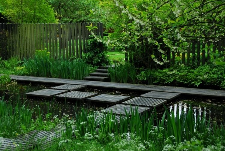 Faire un bassin de jardin 30 idées fantastiques à emprunter