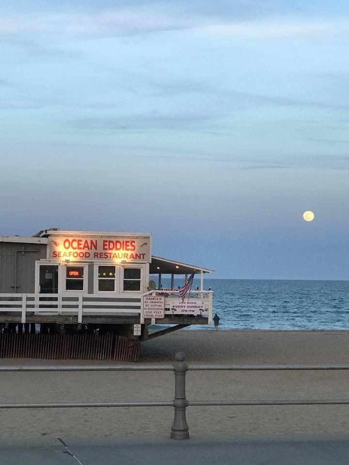 Moon Rise Over The Atlantic Ocean Virginia Beach Va By Cheryl Talbot Real Estate Specialist