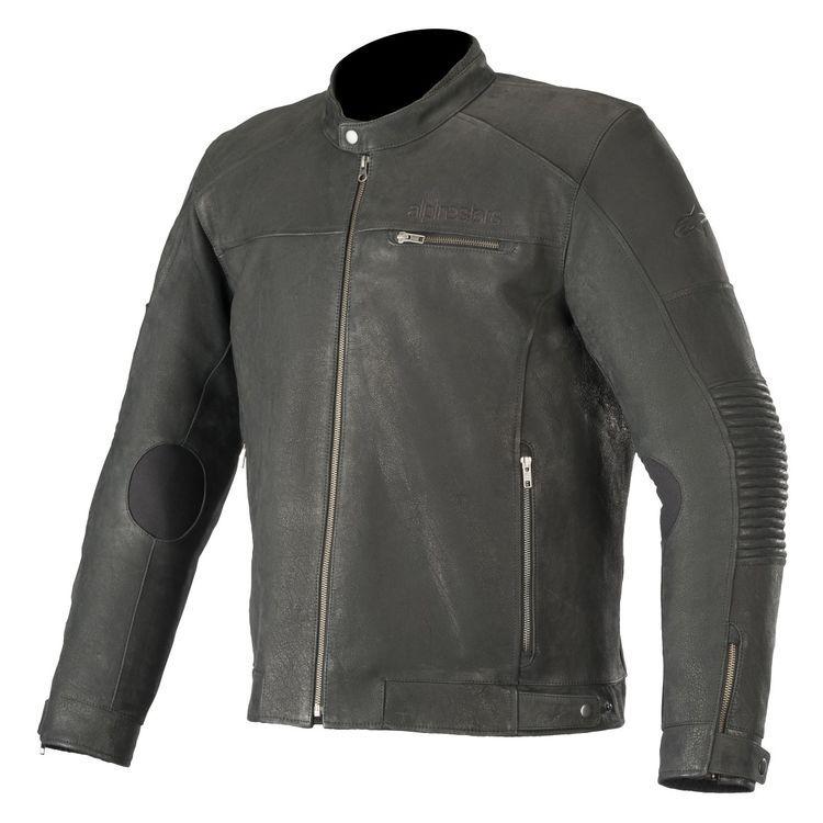 Alpinestars Warhorse Jacket Revzilla Leather Jacket Black Leather Jacket Vintage Leather Motorcycle Jacket