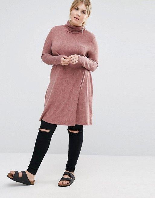 Vestidos para gorditas otono invierno