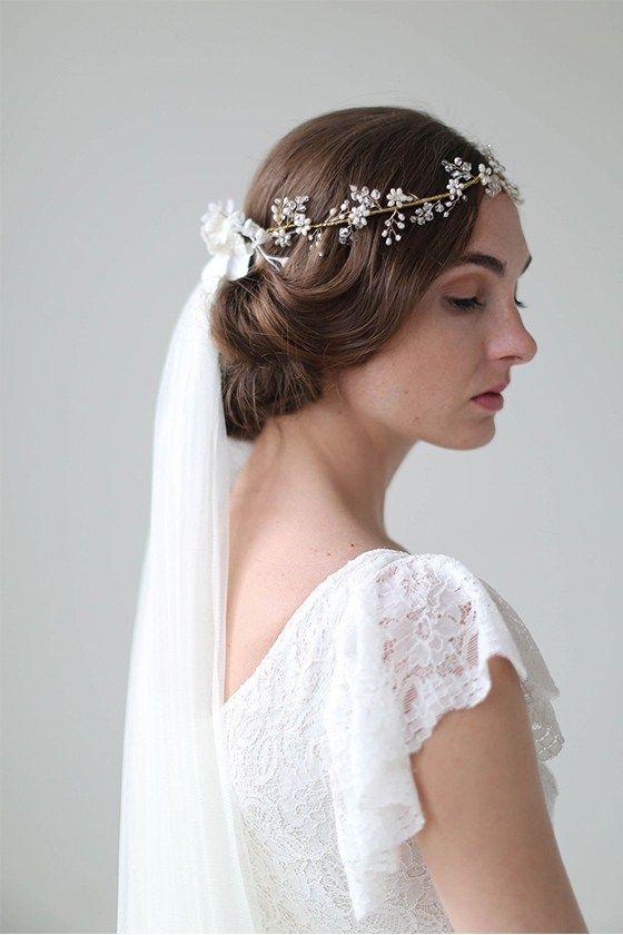Pin von Annette Delgado auf Bridal Veils & Crowns | Pinterest