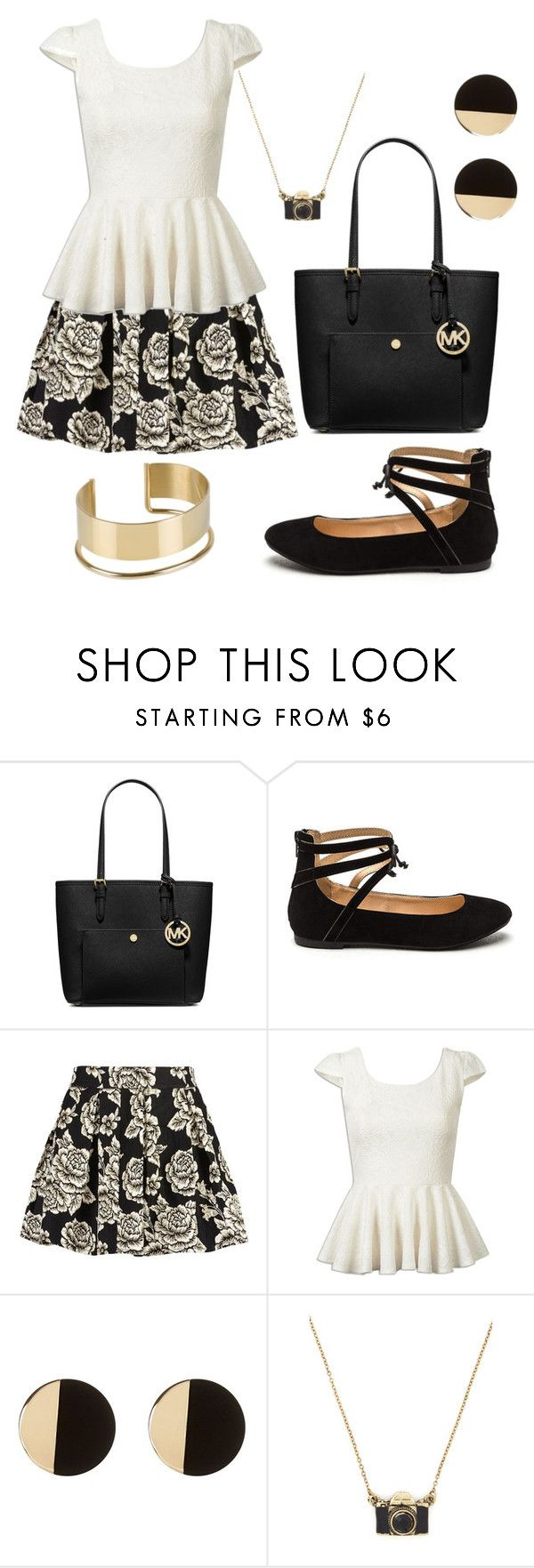 """""""Untitled #2464"""" by princessceairra ❤ liked on Polyvore featuring MICHAEL Michael Kors, Zibi London and By Malene Birger"""