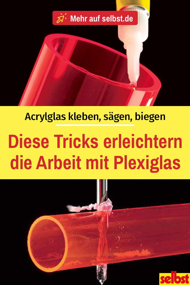 Plexiglas | Acrylglas, Holzbearbeitung handwerk ...