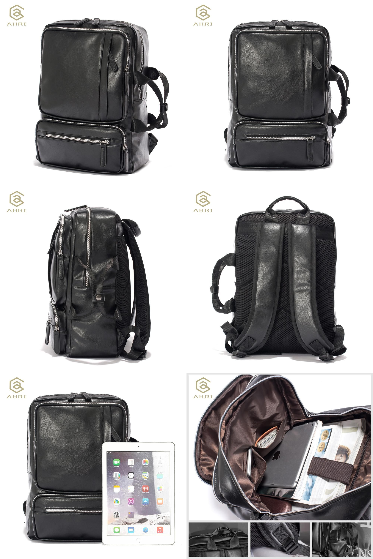 74ced277f3da  Visit to Buy  AHRI NEW Men Backpacks for Bags PU Leather Men s Shoulder  Bags