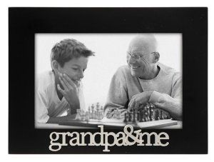 Malden Grandpa and Me Expressions Frame, 4 by 6-Inch: Christmas Gifts