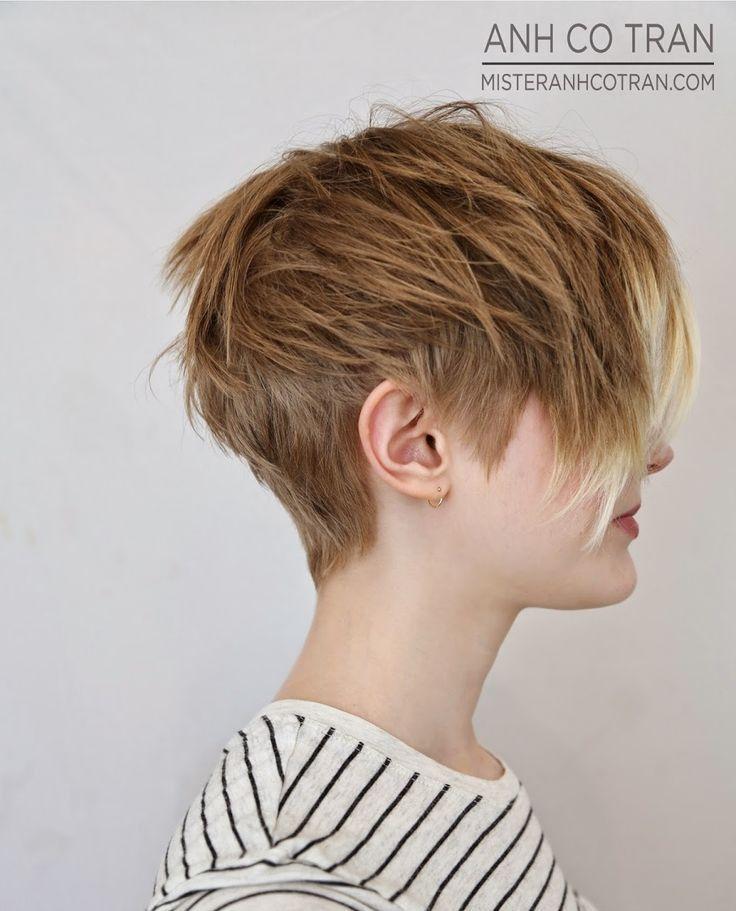 Hbsche Frisuren fr feines Haar Coole Kurzhaarfrisuren