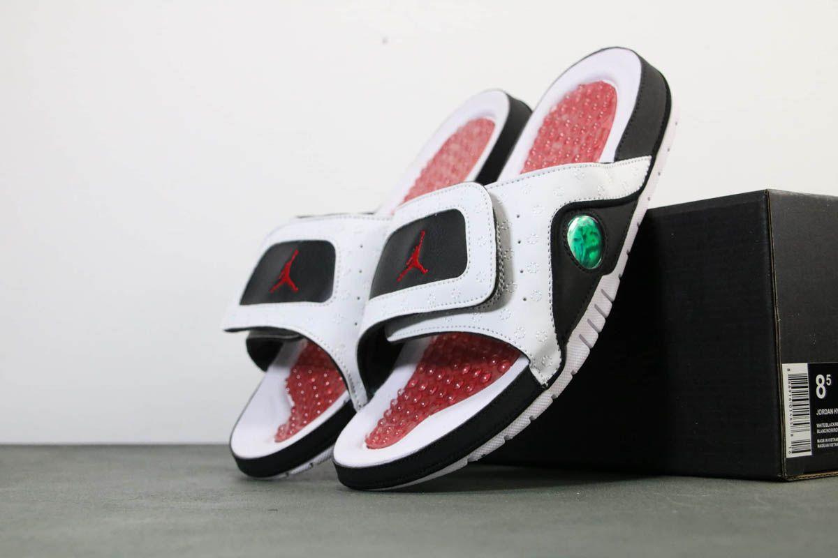 2019 Jordan Hydro 13 Retro He Got Game Slide Sandals In 2020 Slide Sandals He Got Game How To Make Shoes