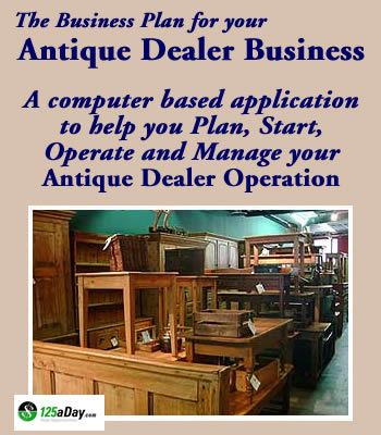 how to get into the antique business