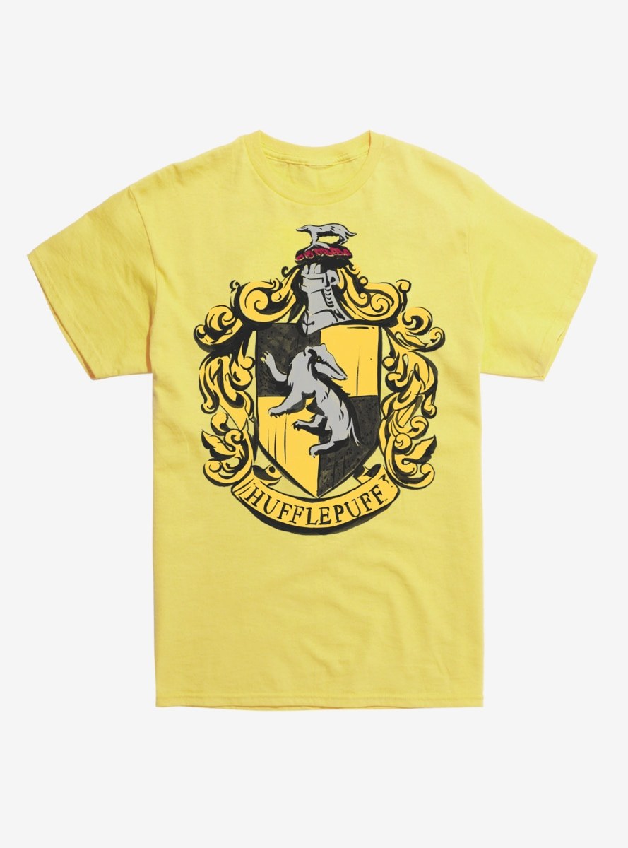 58d2344447e8 Harry Potter Hufflepuff Badger Logo T-Shirt in 2019 | Products ...