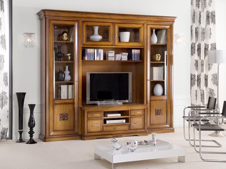 Parete tv soggiorno componibile - ArteFerretto | centros de ...