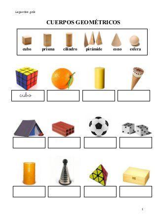 Cuerpos Geometricos Identificar Prismas Y Piramides Actividades