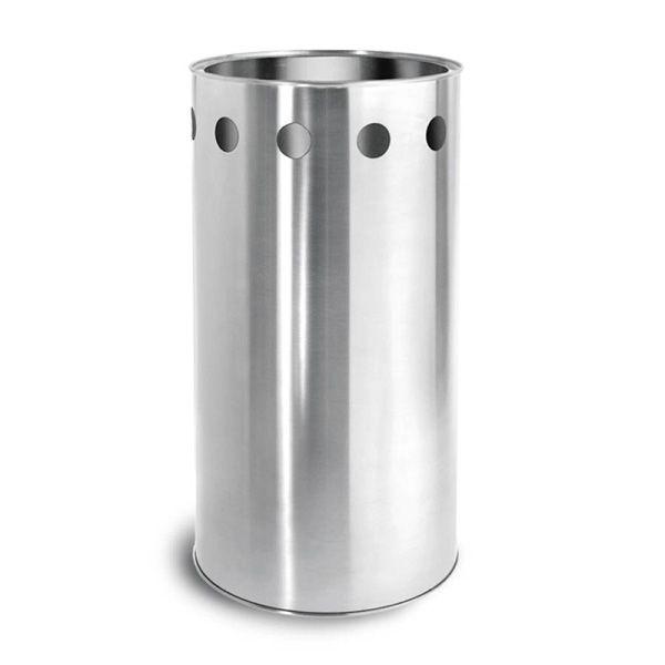 Papierkorb symbolo blomus wastebin dustbin trash garbage waste bin stainless steel - Ausgefallene wohnzimmermobel ...