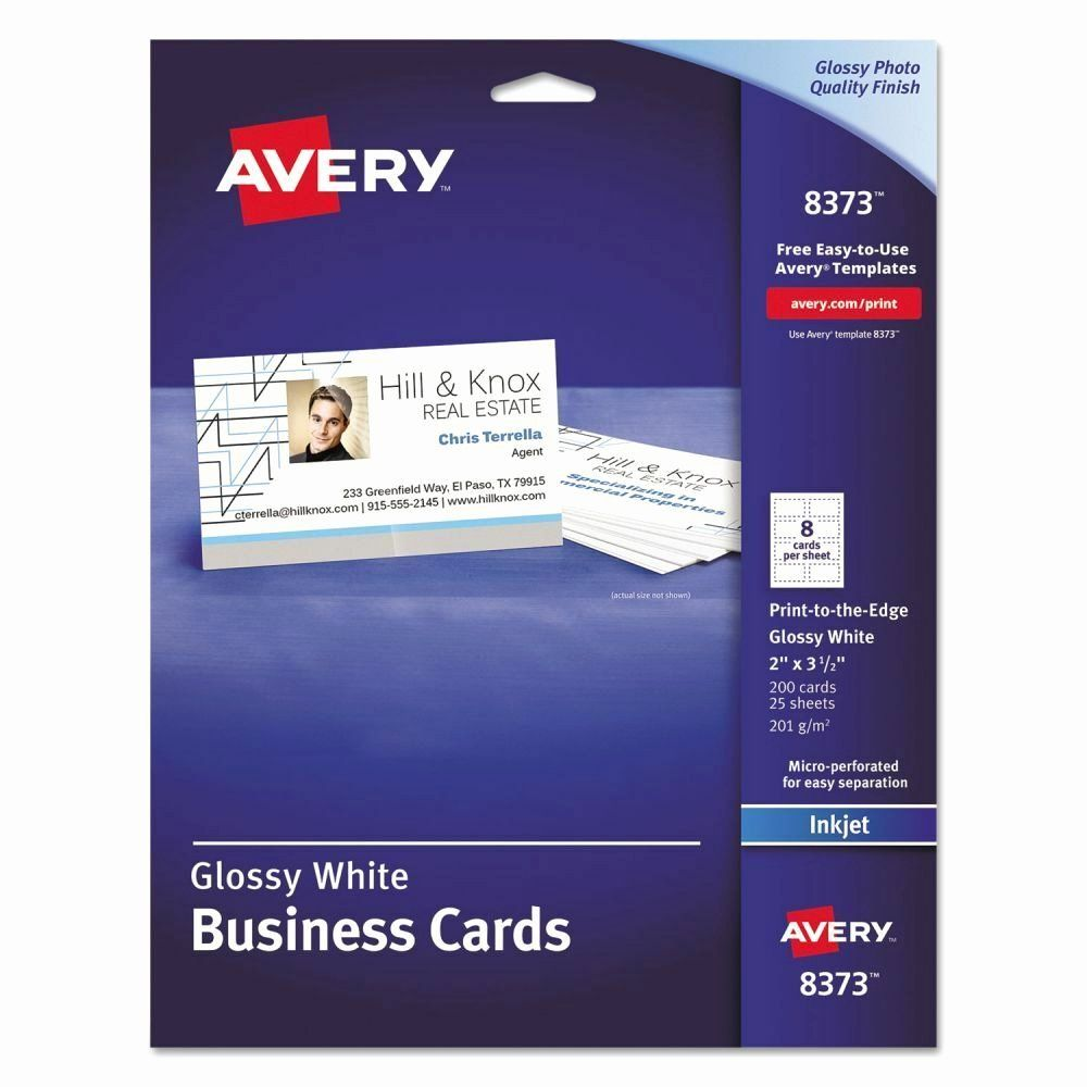 Avery 5871 Business Cards Template Luxury Avery Business Cards Ave8373 Avery Business Cards White Business Card Colorful Business Card