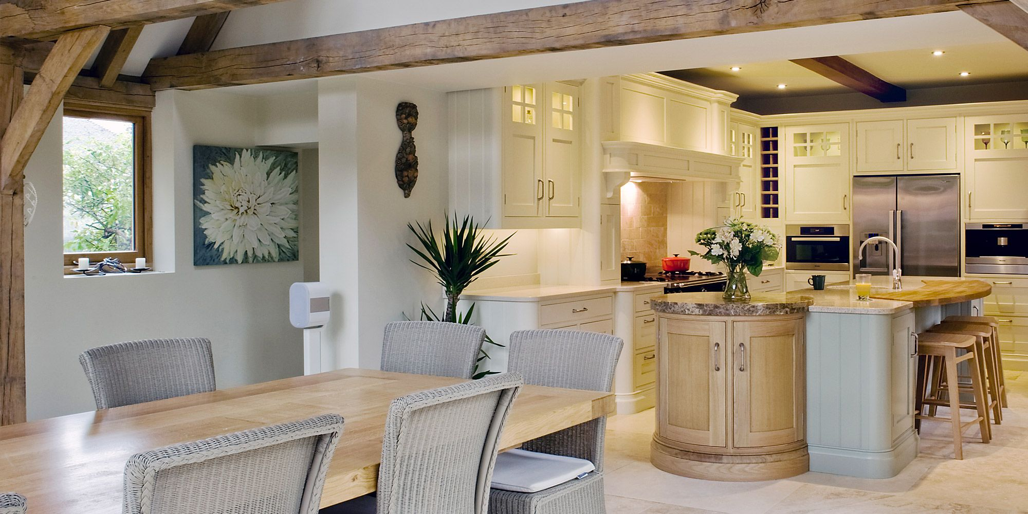 Edwin Loxley maple kitchen from Channel Island Ceramics ...