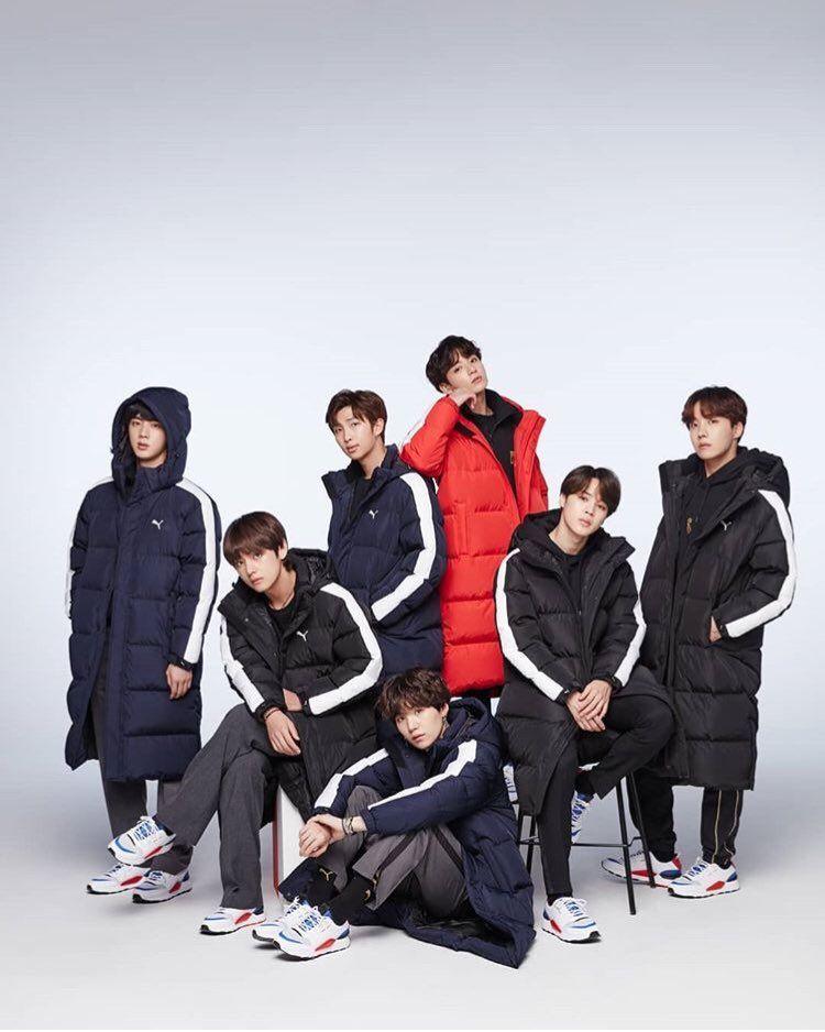 4a7d213fb83 BTS x PUMA -  PUMA Basket made by BTS (Winter Collection)  music  kpop  bts   puma  btsxpuma