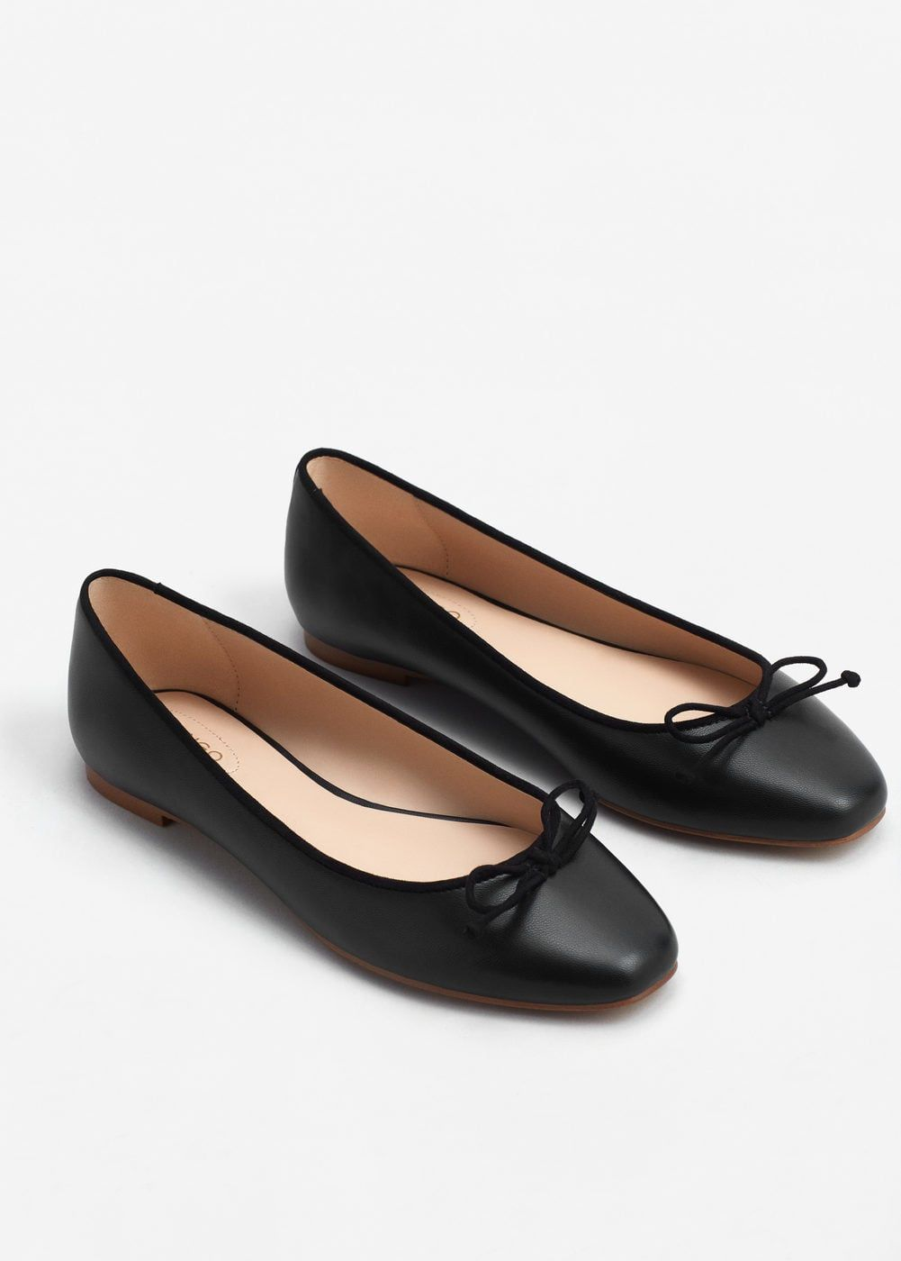 New Women/'s Smart Black Flat Loafers with PomPoms Classic Shoes Slip On