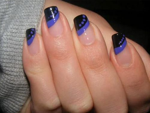 cool nail design ideas cool blue easy nail art designs nail ideas inspiration