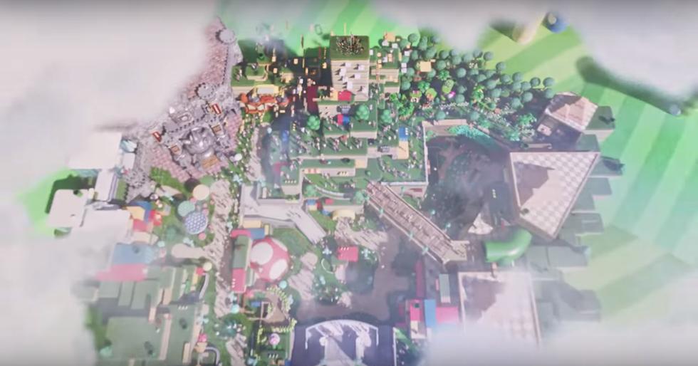 Universal Studios Japan reveals new Super Nintendo World