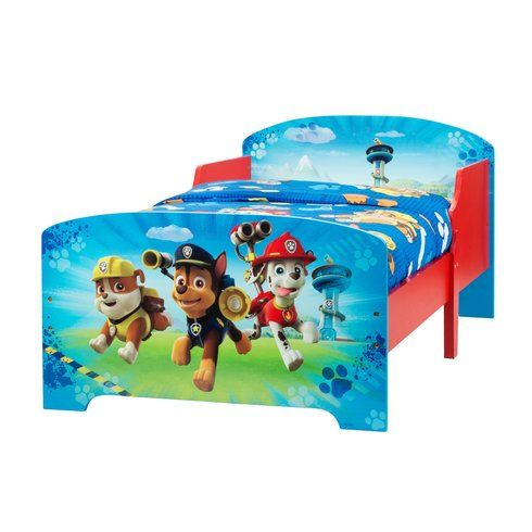 Superb Paw Patrol Wooden Toddler Bed Now At Smyths Toys Uk Buy