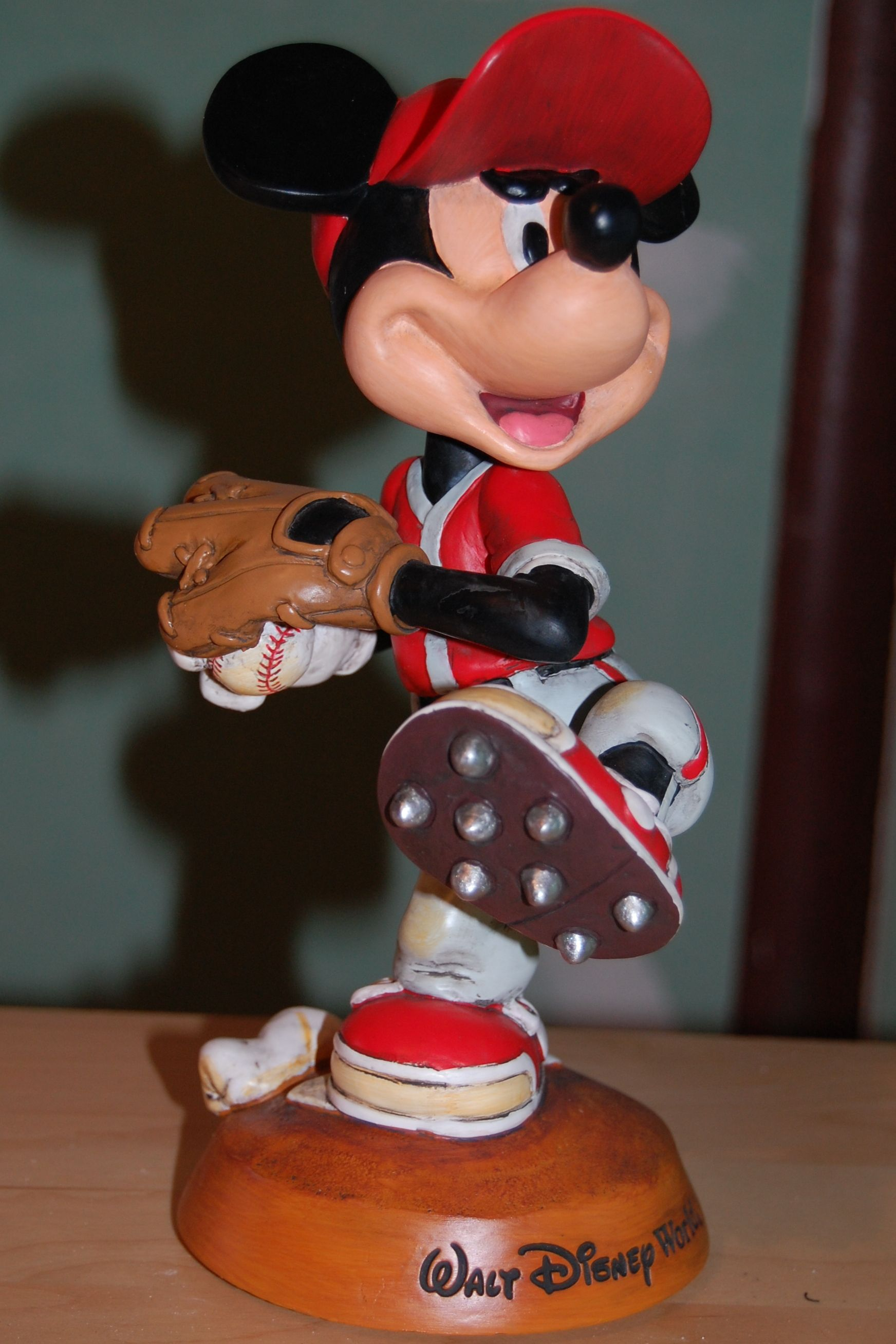 Mickey Mouse Pitcher Bobblehead