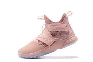 9b40fc99690 Mens Nike LeBron Soldier XII SFG EP 12 James LBJ Pink AO4055 900 Basketball  Shoes Lebron