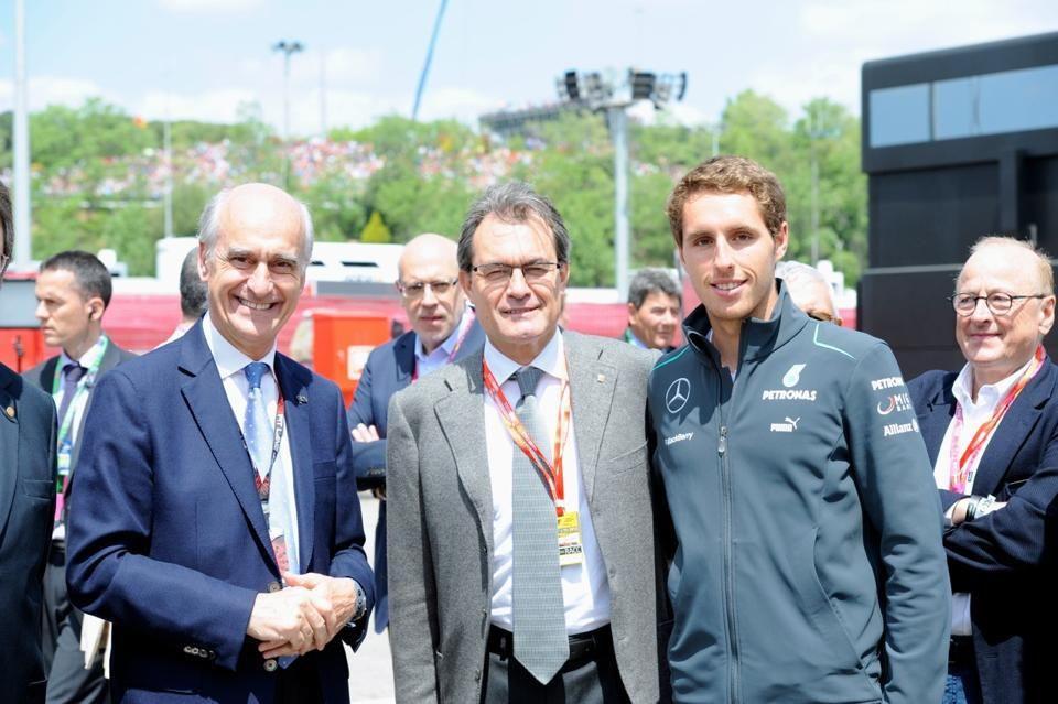 dtm Dani Juncadella zu Besuch beim spanischen F1-Grand-Prix. Was habt ihr Schönes am Wochenende gemacht