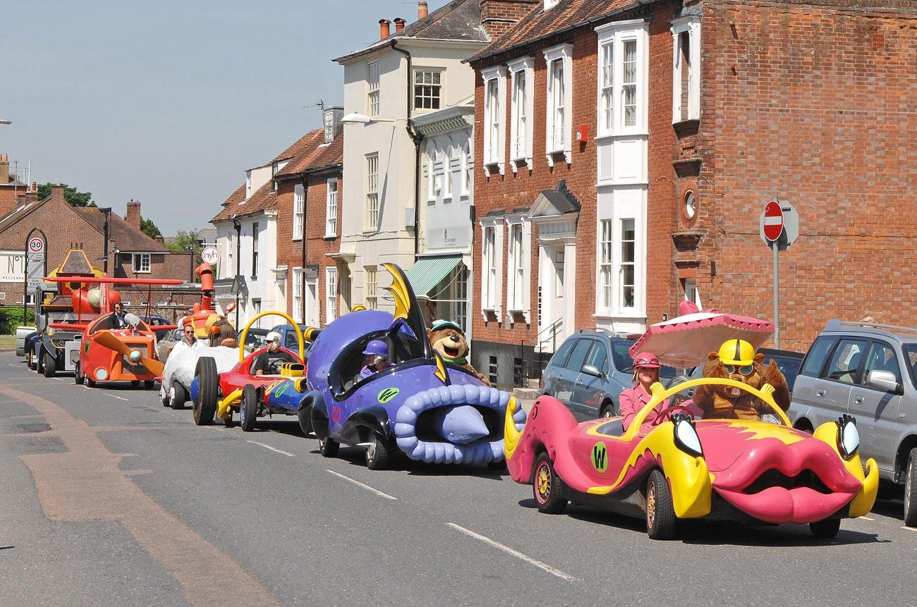Wacky Races In Real Life Hanna Barbera And Saturday Morning