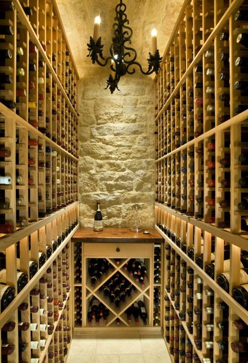 Wine cellar this would be nice for a wine connoisseur - Small wine cellar ideas ...