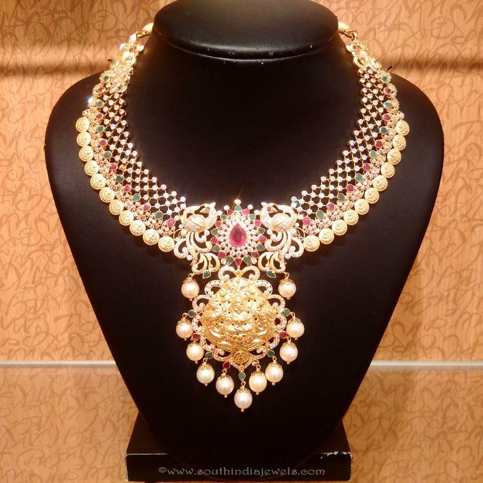 Beautiful Gold Temple Necklace from NAJ | See best ideas ...