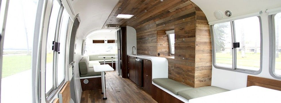 matthew hoffman converted a vintage airstream into a home/office