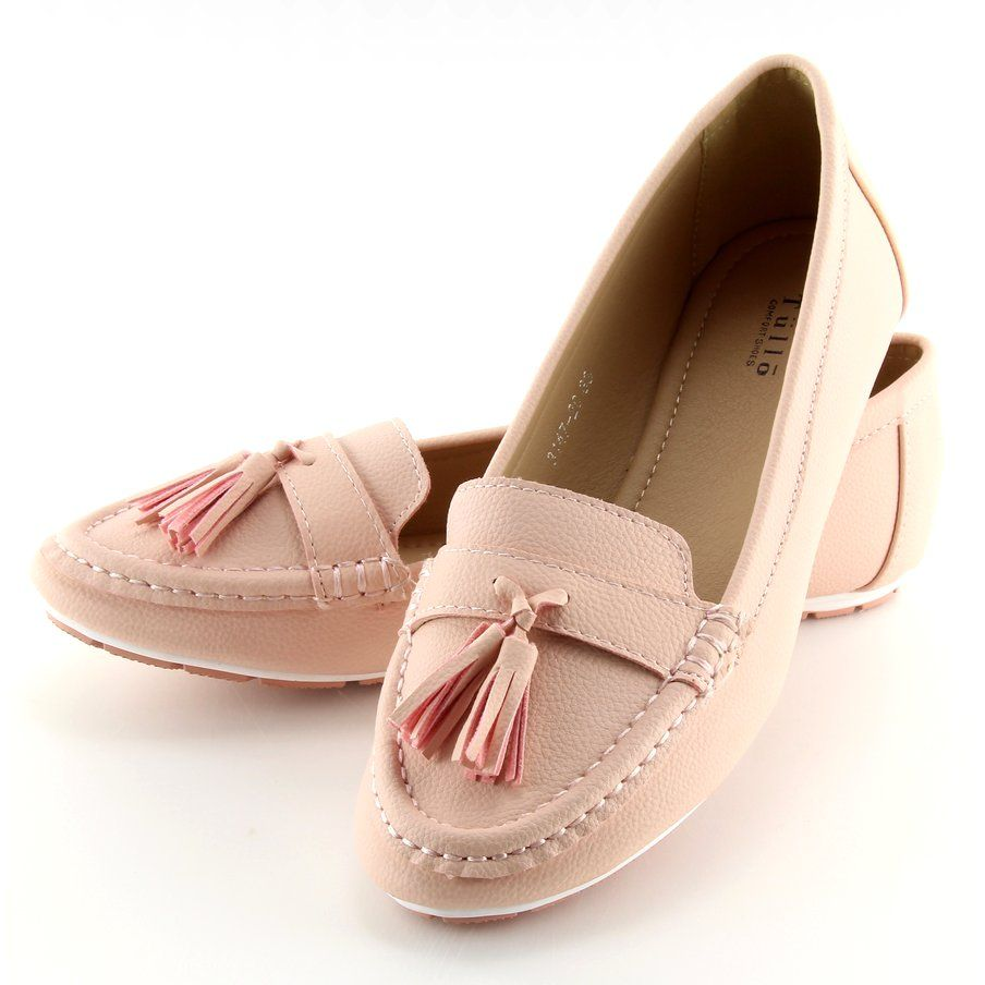 Mokasyny Damskie Rozowe 3147 Pink Loafers For Women Women Shoes Shoes