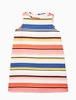 girls' berber stripe shift dress by kate spade new york