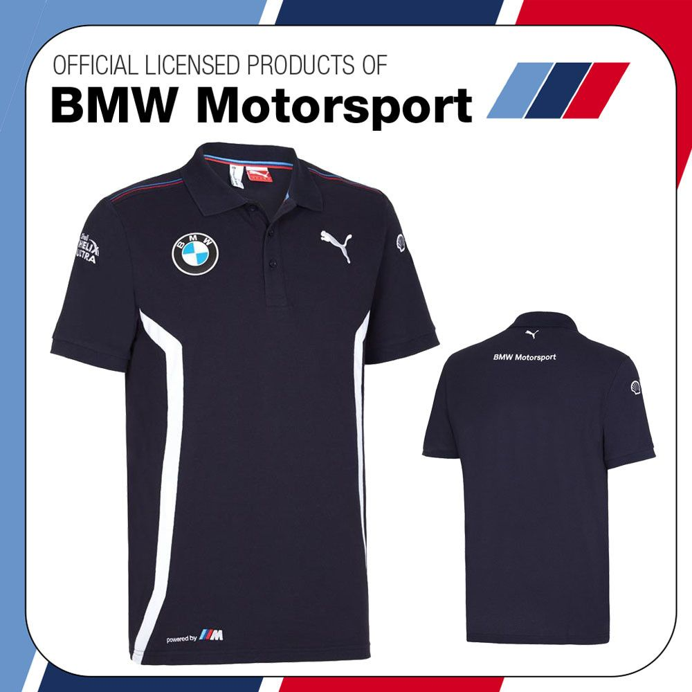 T Shirt Bmw Motorsport New 2016 Puma Bmw Motorsport Mens ...