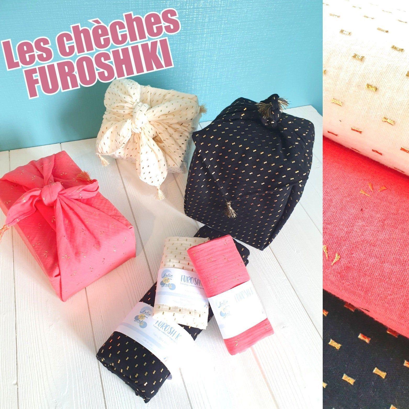 Furoshiki - Chèche - Emballage cadeau tissu éco-responsable #emballagecadeauecologique Furoshiki - Chèche - Emballage cadeau tissu éco-responsable #emballagecadeauecologique