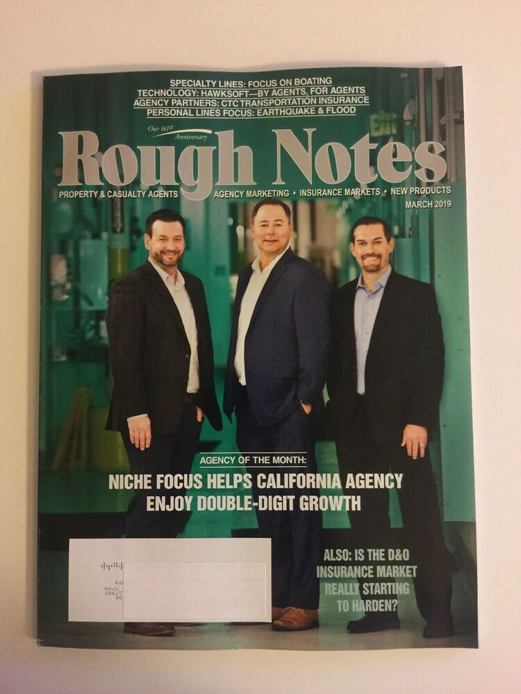 Rough Notes Magazine March 2019 California Niche Focus Boating