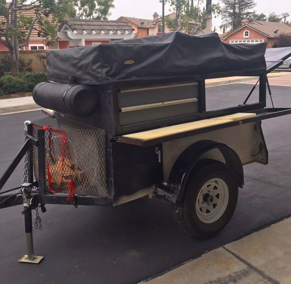 Camper Trailer for Base Camping Camping trailer for sale